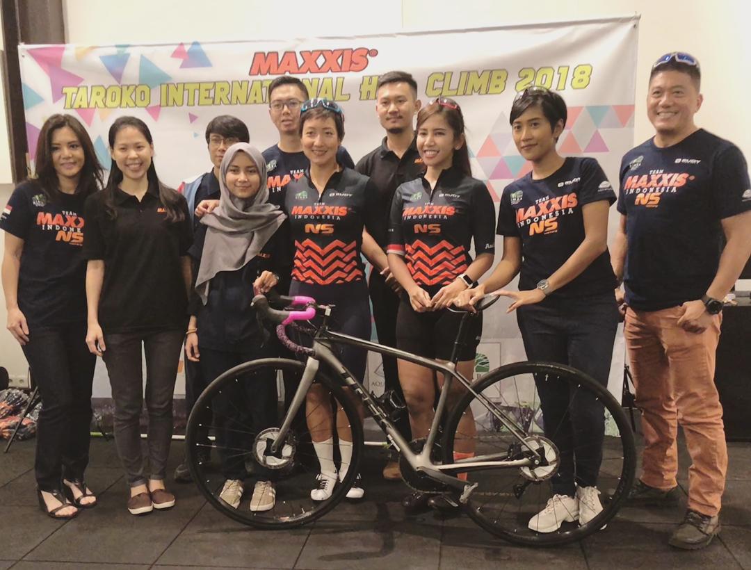 """Indonesia Kirim Duo Srikandi ke """"Maxxis Taroko International Hill Climb 2018"""""""