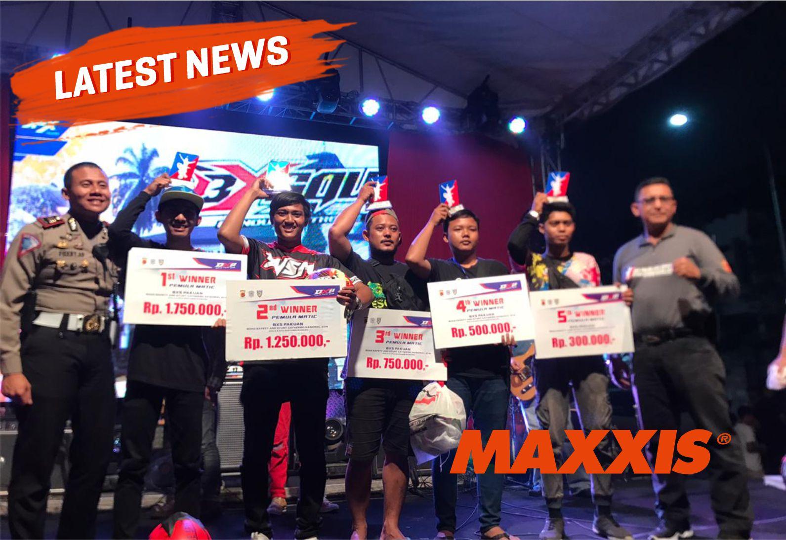 Maxxis Sukses Antarkan Bakat Muda Naik Podium Juara