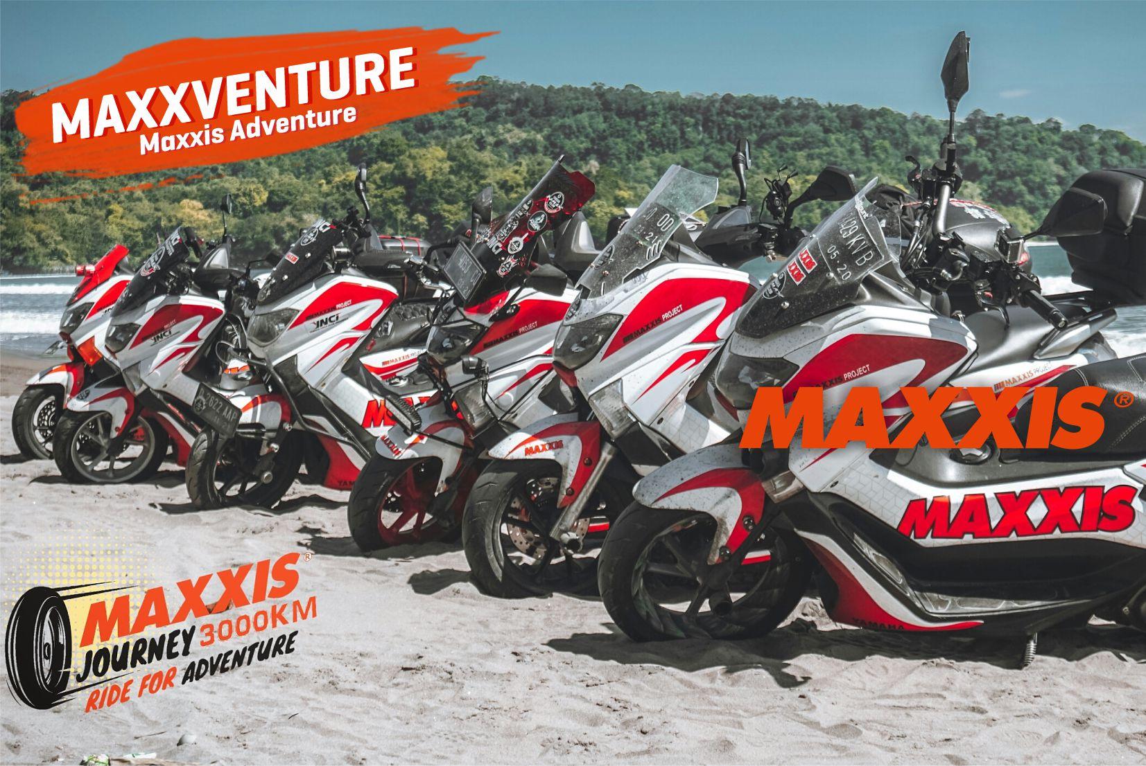 Nikmati Keindahan Pantai Pangandaran bersama Maxxis