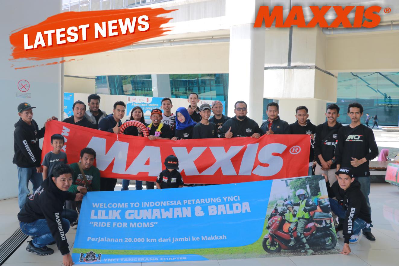 Maxxis Temani Perjalanan Panjang 20.000 Kilometer Lilik Gunawan dan Balda