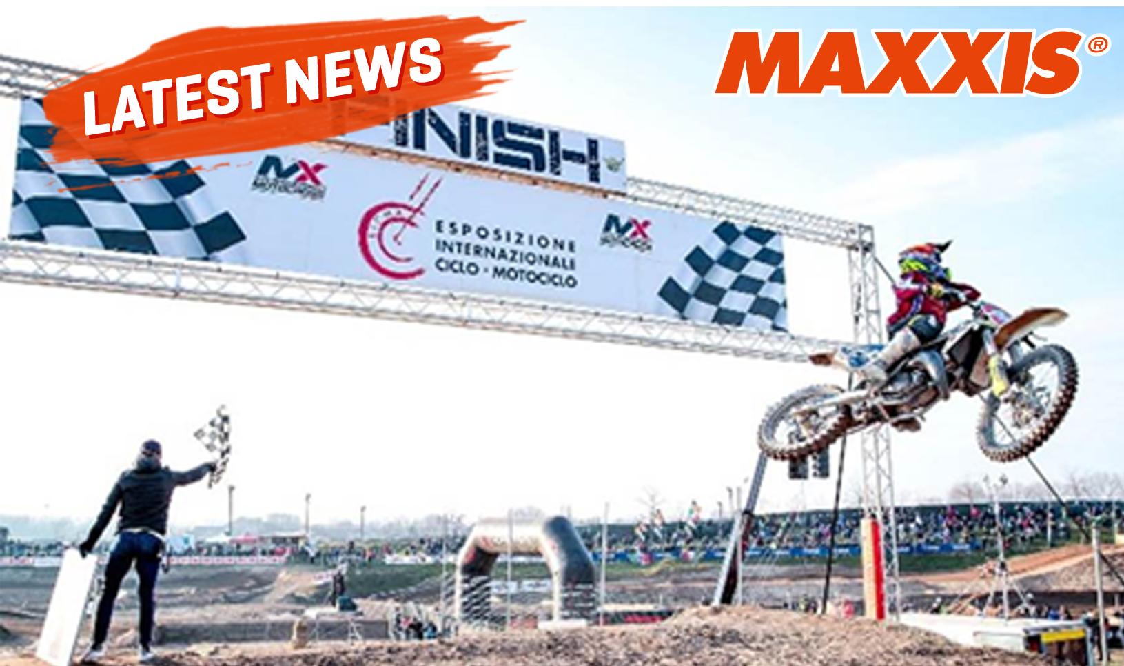 Mulai Lakukan Pemanasan, MAXXIS Siap Unjuk Gigi di MXGP 2020