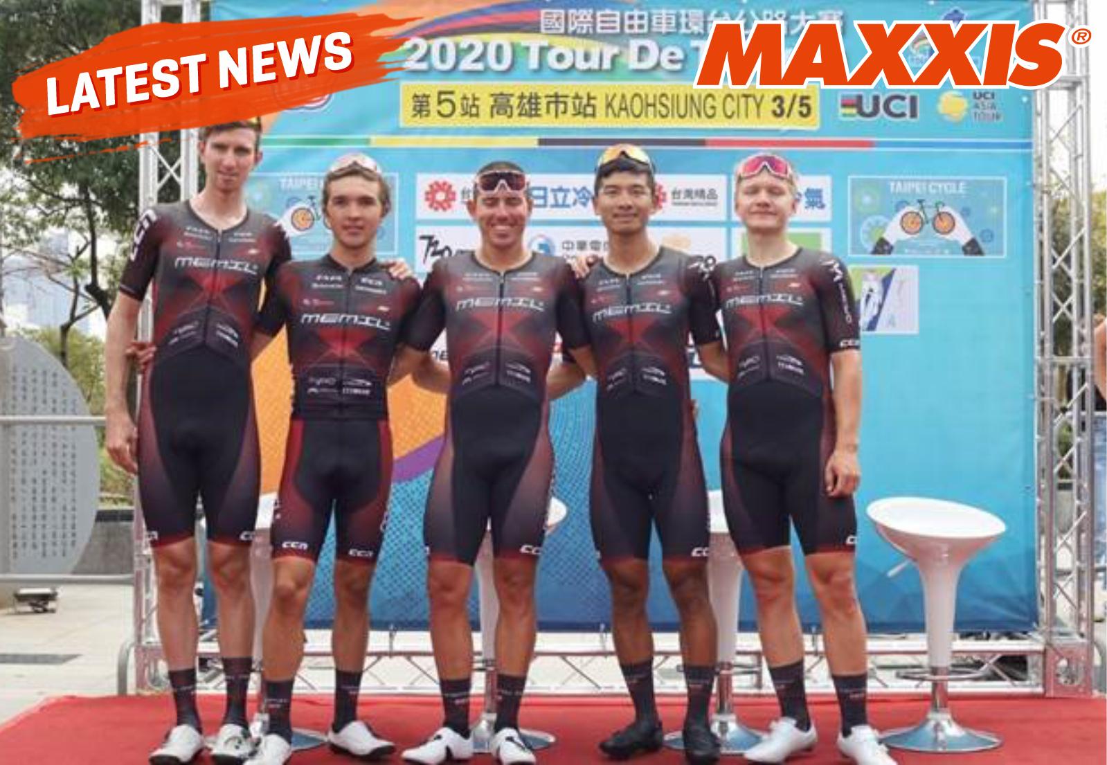 Maxxis Bersinar Di Kompetisi Tour De Taiwan 2020